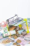 Notas de banco do dólar australiano Fotos de Stock