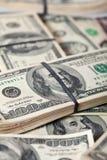Notas de banco dos dólares americanos Imagem de Stock