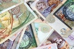 Notas de banco escocesas Imagens de Stock Royalty Free