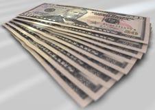 Notas de dólar Foto de Stock Royalty Free