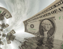 Notas de dólar Fotografia de Stock Royalty Free