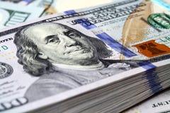 Notas de dólar Imagem de Stock Royalty Free