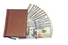 Notas de dólar dos EUA cem Imagens de Stock
