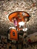 Notas de dólar no príncipe de Gales, St Augustine, Florida Foto de Stock