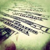 notas de 50 dólares Foto de Stock Royalty Free