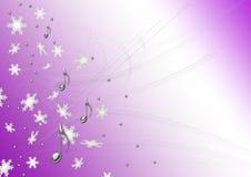 Notas de la Navidad imágenes de archivo libres de regalías