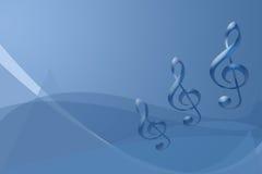 Notas de Muscial Imagen de archivo libre de regalías