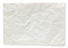 Notas de papel dobradas. Imagens de Stock Royalty Free
