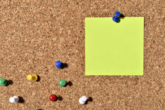 Notas de post-it Foto de Stock Royalty Free