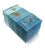 Notas de uma moeda do ringgit fotografia de stock royalty free