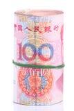 Notas de Yuan. Dinero en circulación de China Imagen de archivo libre de regalías