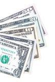 Notas del dólar de EE. UU. Foto de archivo libre de regalías