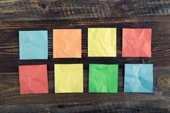 Notas del palillo Imágenes de archivo libres de regalías