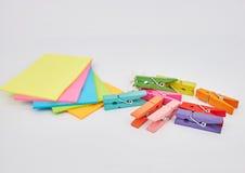 Notas del palillo Imagen de archivo libre de regalías