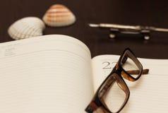 Notas do curso Foto de Stock