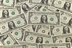Notas do dólar Imagens de Stock
