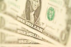 Notas do dólar americano Imagens de Stock