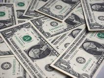 Notas do dólar, Estados Unidos imagem de stock
