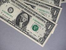 Notas do dólar, Estados Unidos fotos de stock