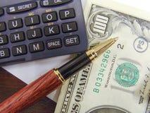 Notas do dinheiro de Dolar Imagem de Stock Royalty Free