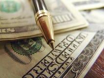 Notas do dinheiro de Dolar Imagem de Stock
