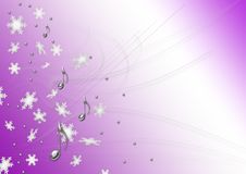 Notas do Natal Imagens de Stock Royalty Free