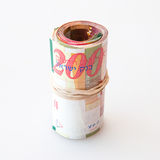 200 notas do shekel Fotos de Stock Royalty Free