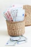El euro. Fotos de archivo
