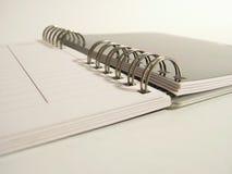 Notas espirales Fotografía de archivo