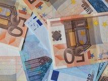 Notas euro del EUR, UE de la unión europea Imagenes de archivo