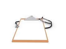 Notas médicas Fotografía de archivo libre de regalías