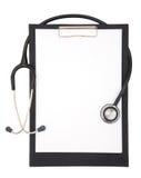 Notas médicas Fotografía de archivo