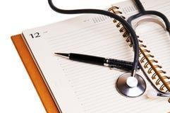 Notas médicas Imagens de Stock