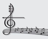 Notas musicais Imagens de Stock Royalty Free