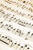 Notas musicais foto de stock royalty free