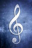 Notas musicais: Série 1 de 3 Fotografia de Stock