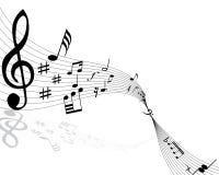 Notas musicales libre illustration