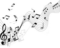 Notas musicales libre illustration