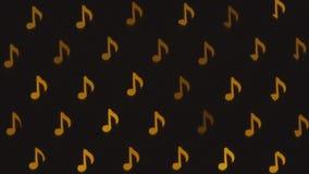 Notas musicales Fondo abstracto del centelleo