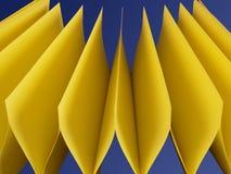 Notas pegajosas - 2 Fotos de archivo libres de regalías