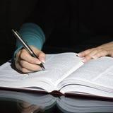 notatek księgowej odniesienia zdjęcia royalty free