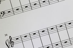 Notation Paper Stock Images