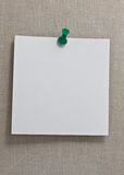 notatka Obraz Stock