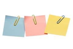 notatki Obraz Stock
