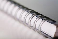 notatki książki spirali Zdjęcie Royalty Free