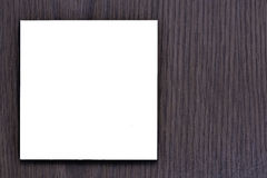 Notatki na drewnianym tle Obraz Stock
