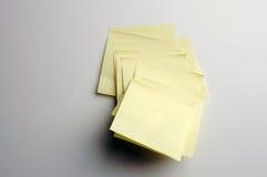 notatki pocztę Zdjęcia Stock