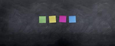 notatki pusta deskowa poczta Zdjęcie Stock
