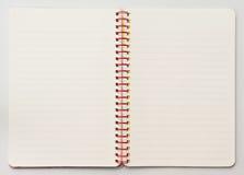 notatnik Obrazy Stock