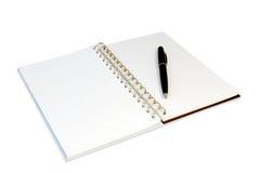 notatnik Zdjęcia Stock